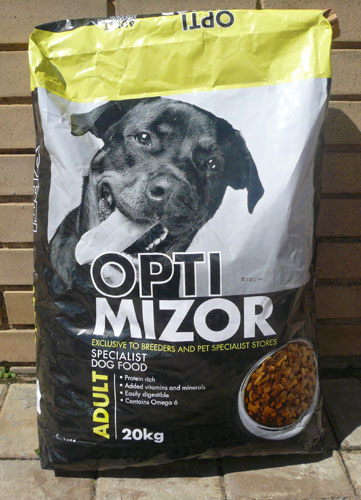 Optimizor dog food 20kg